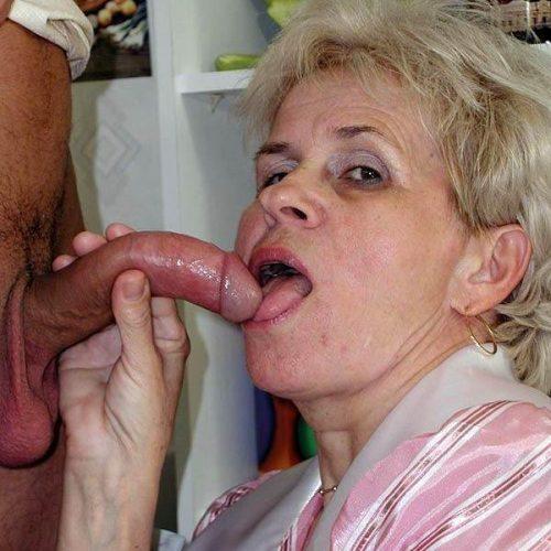 Reife Oma braucht Pimmel