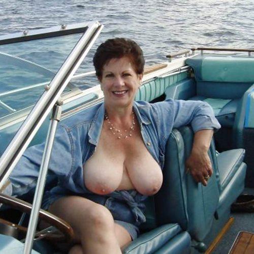 Oldieporno auf dem Boot